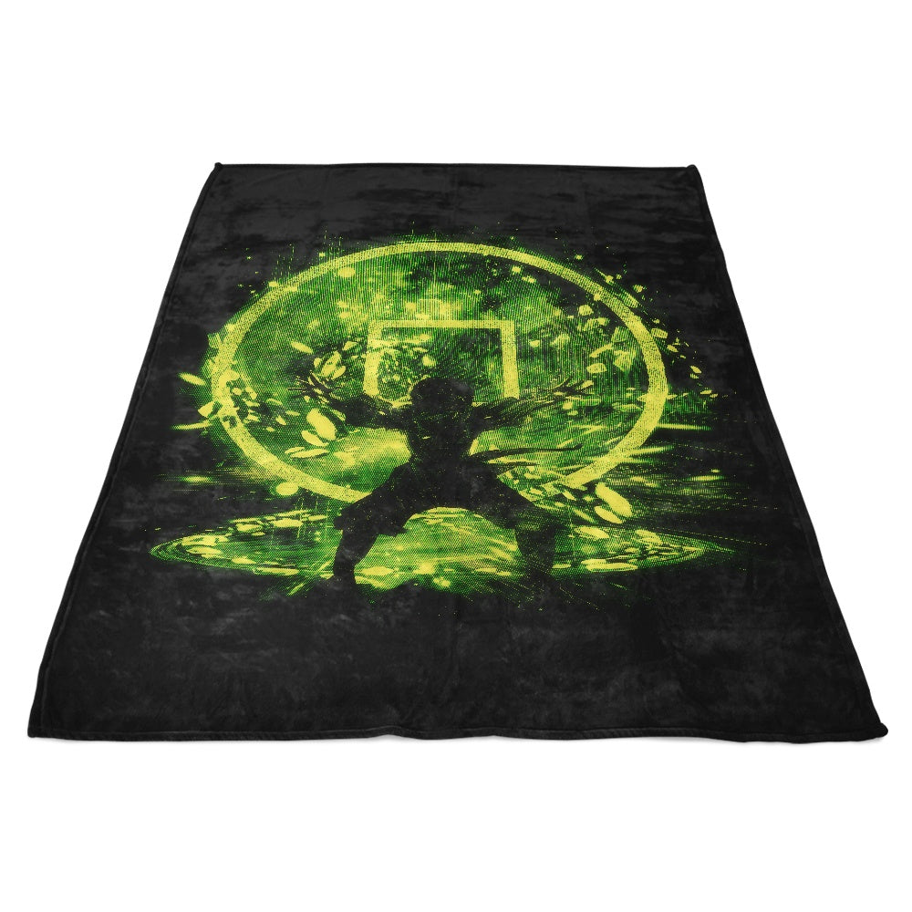 Earth Storm - Fleece Blanket