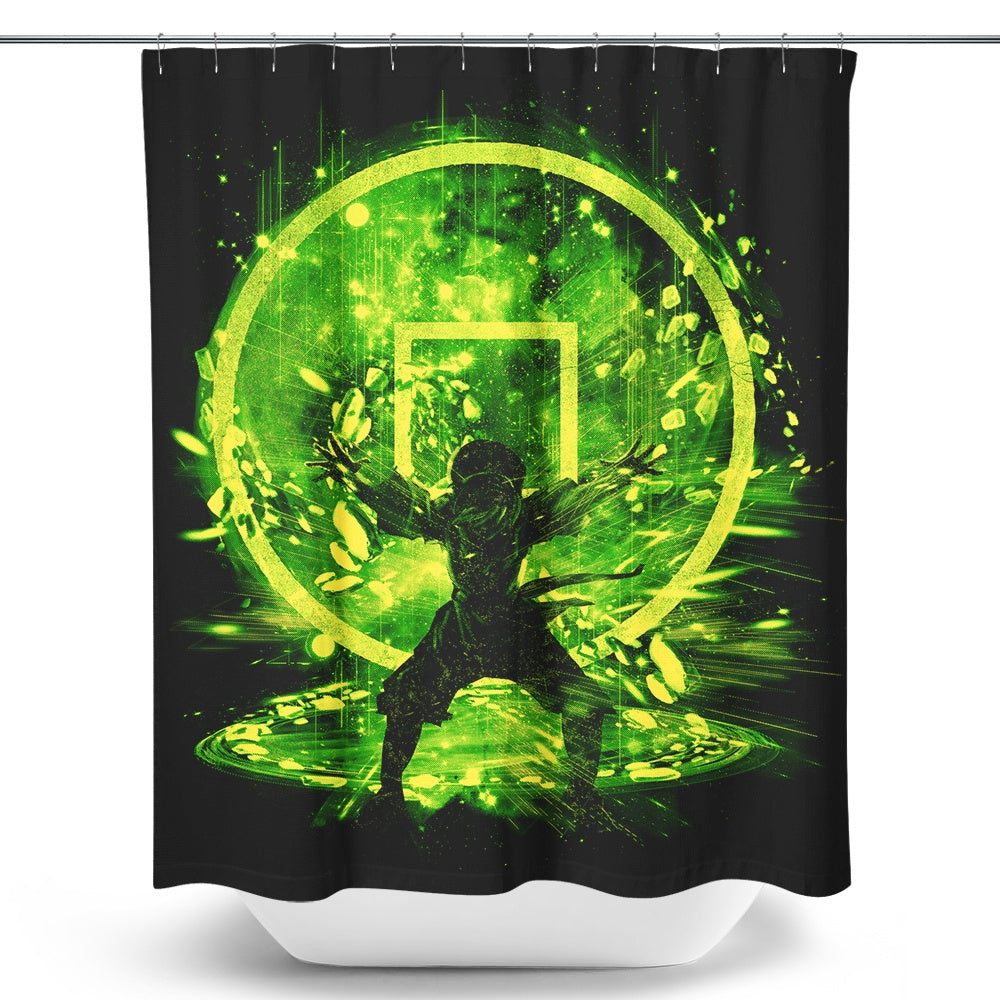 Earth Storm - Shower Curtain