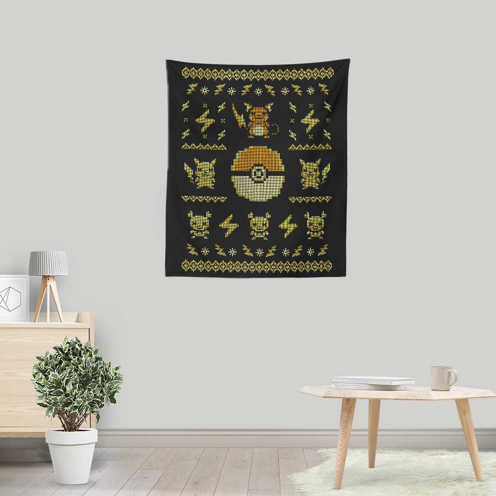 Electric Trainer Sweater - Wall Tapestry