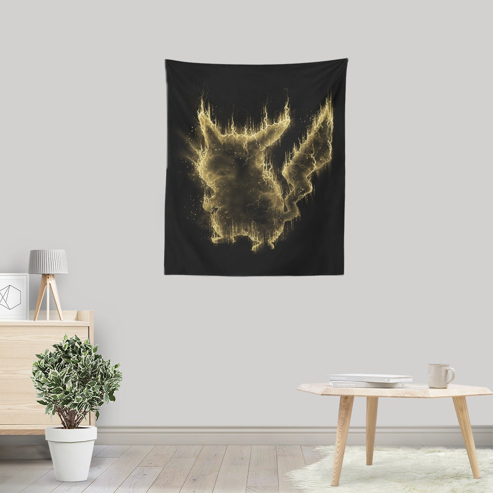 Electric Type - Wall Tapestry