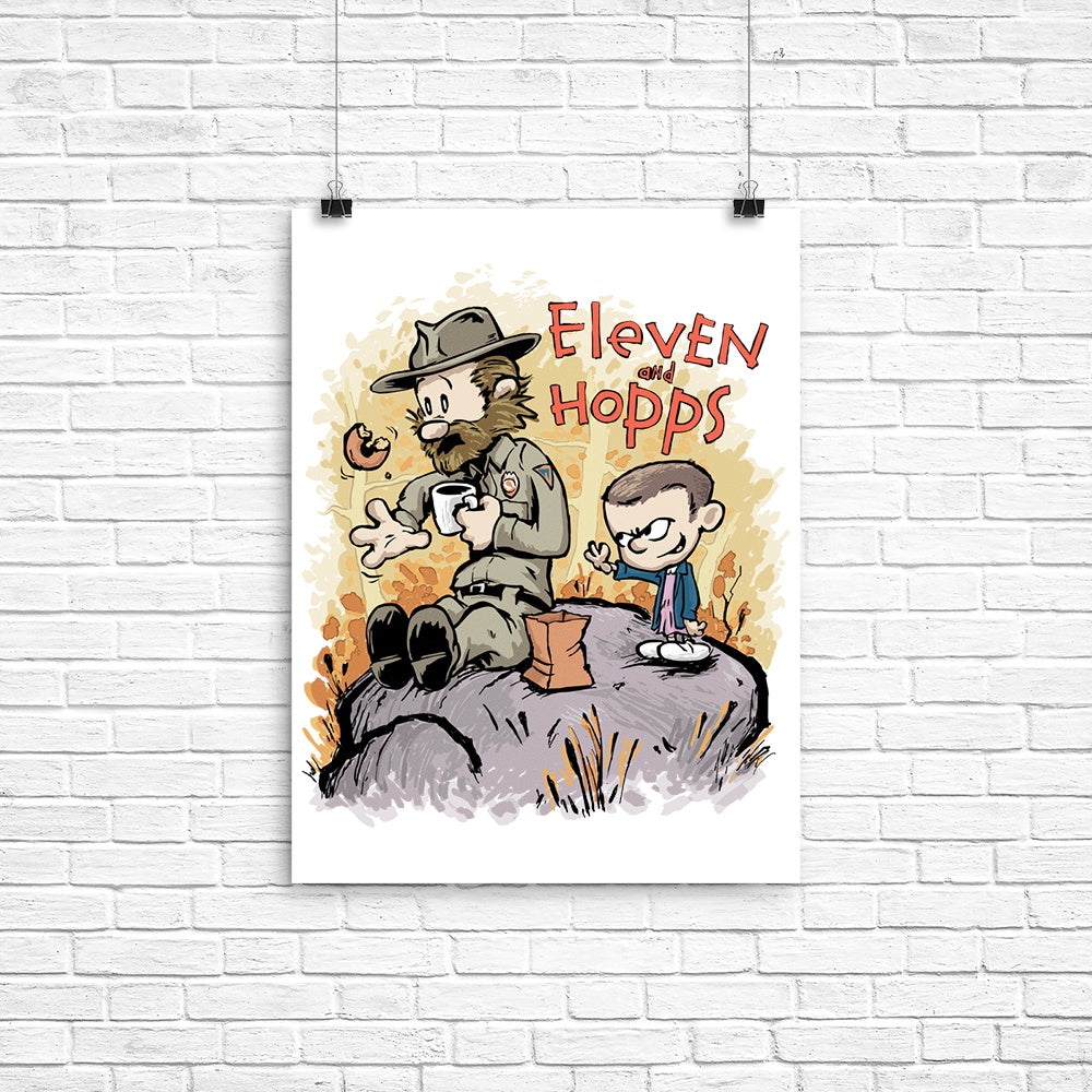 Eleven and Hopps - Poster