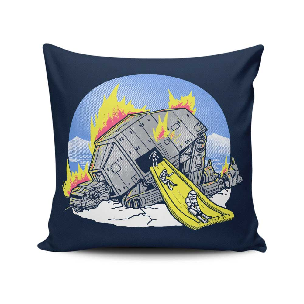 Emergency Exit - Throw Pillow