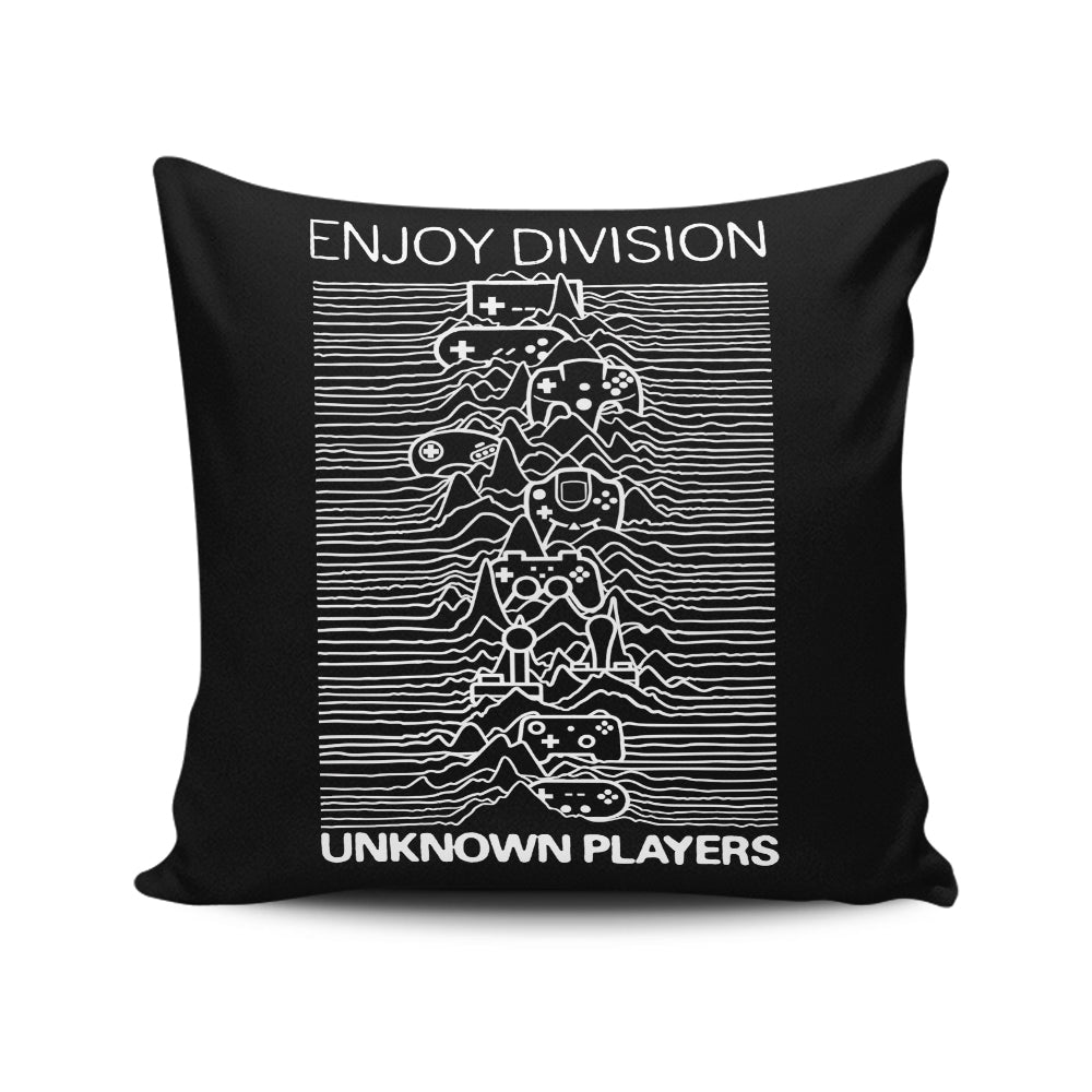 Enjoy Division - Throw Pillow