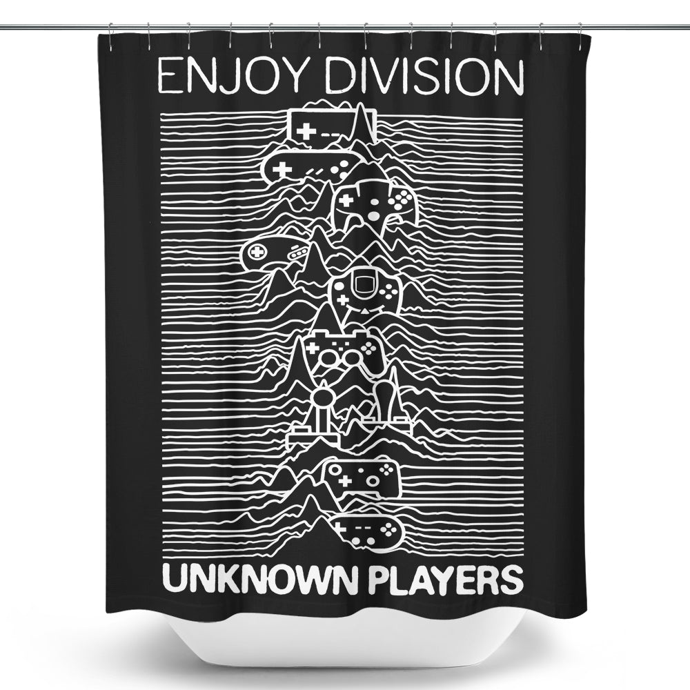 Enjoy Division - Shower Curtain