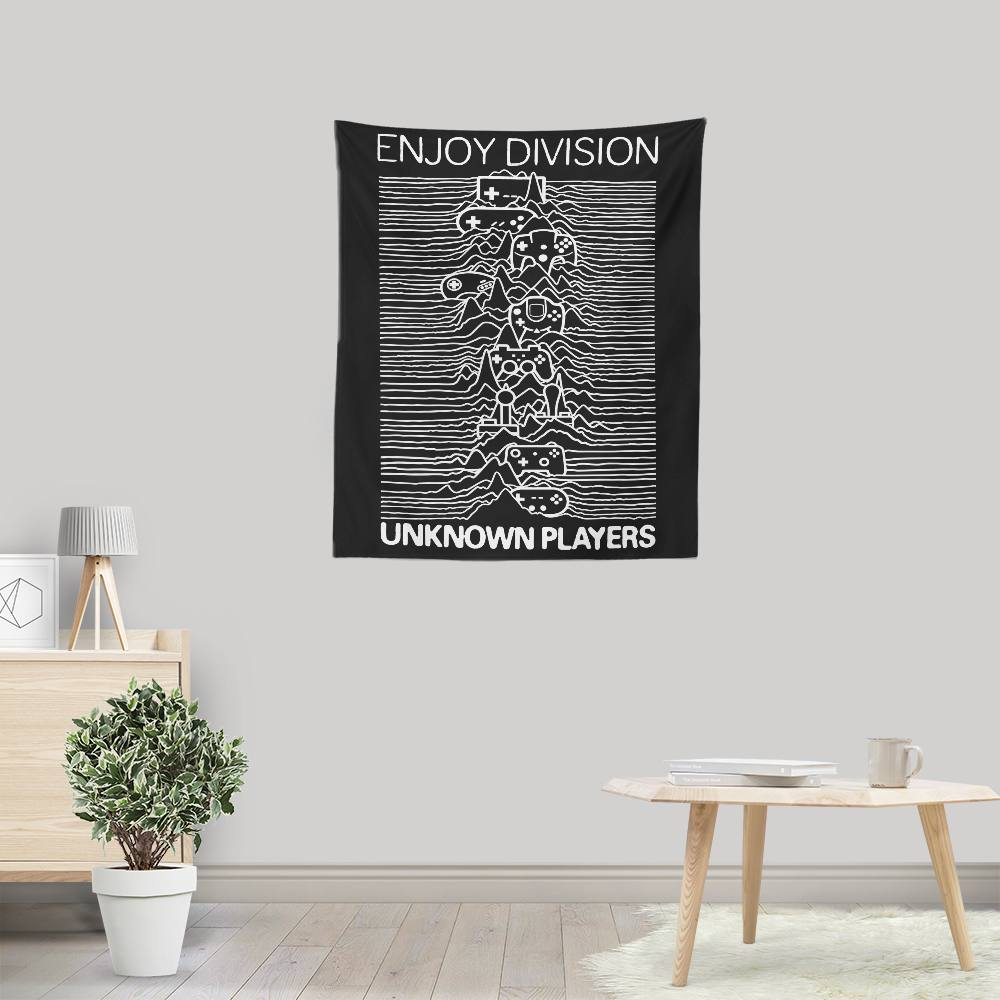 Enjoy Division - Wall Tapestry