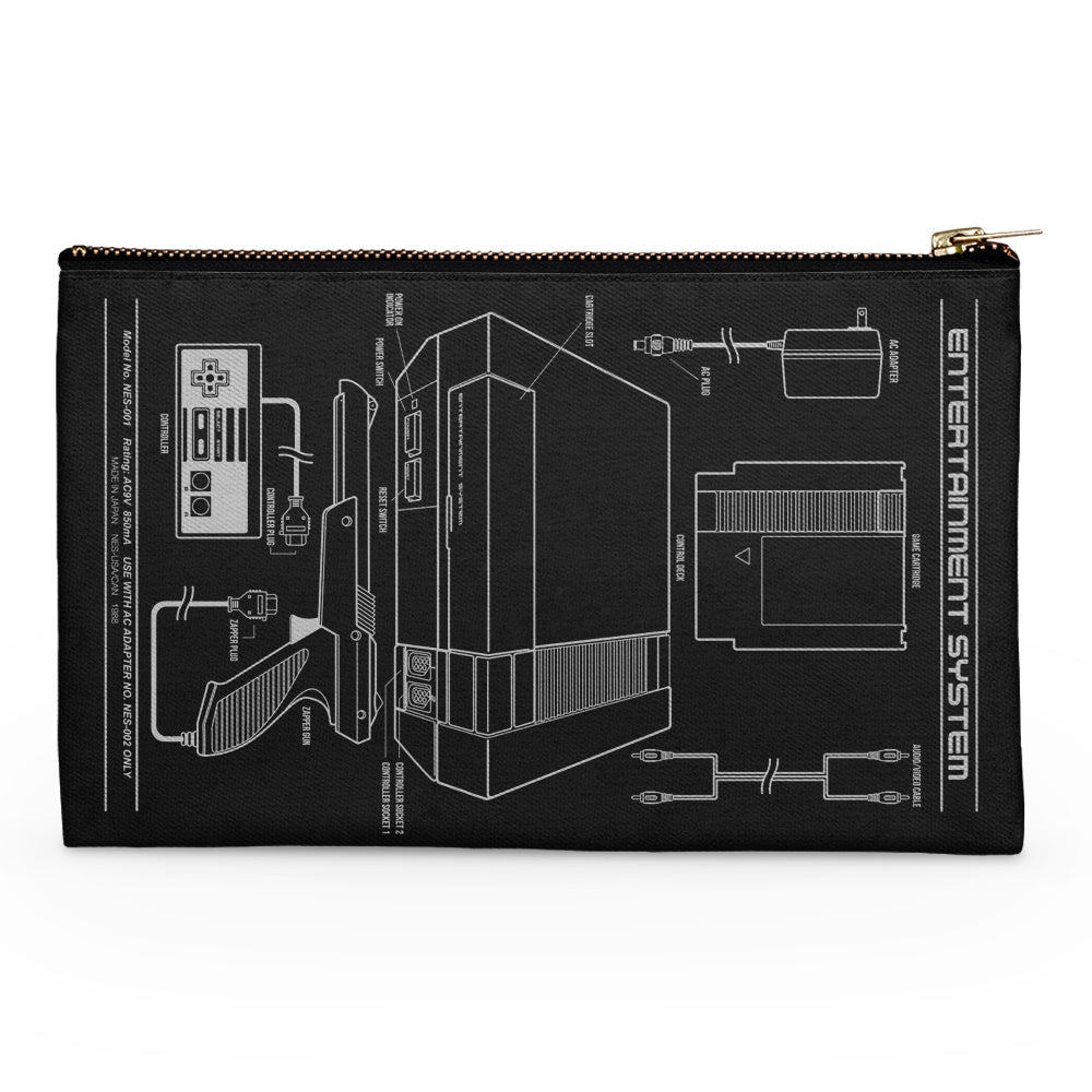 Entertainment System - Accessory Pouch