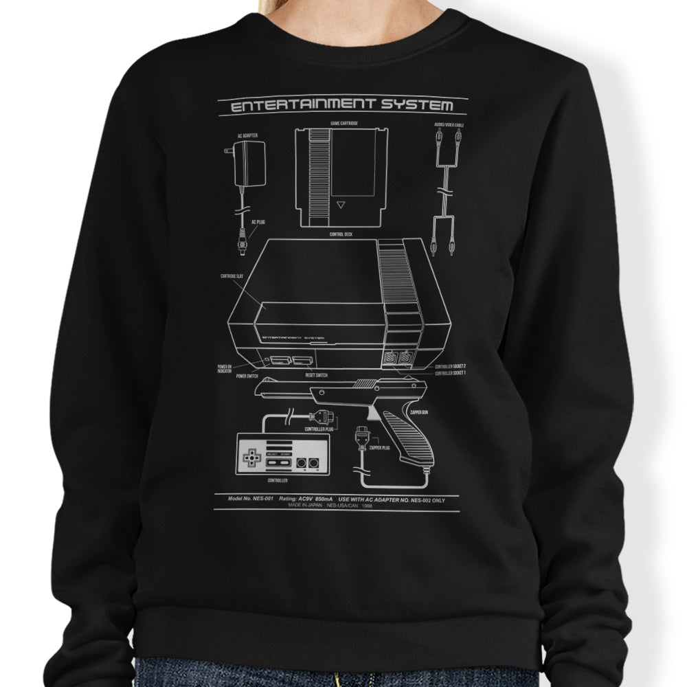 Entertainment System - Sweatshirt