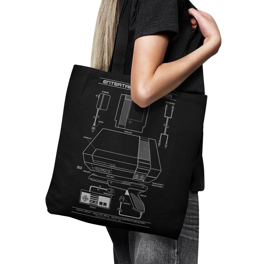 Entertainment System - Tote Bag
