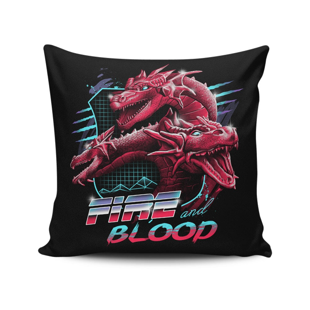Epic Fire - Throw Pillow