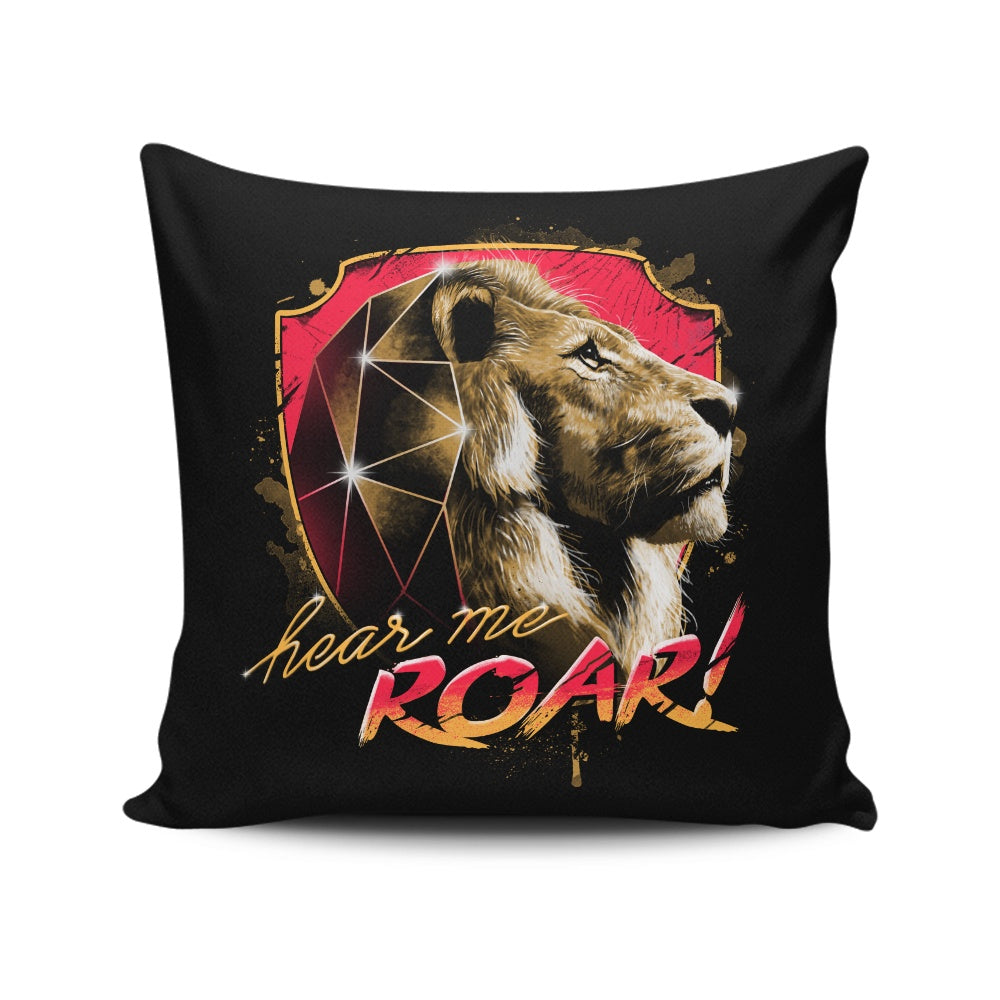 Epic Roar - Throw Pillow