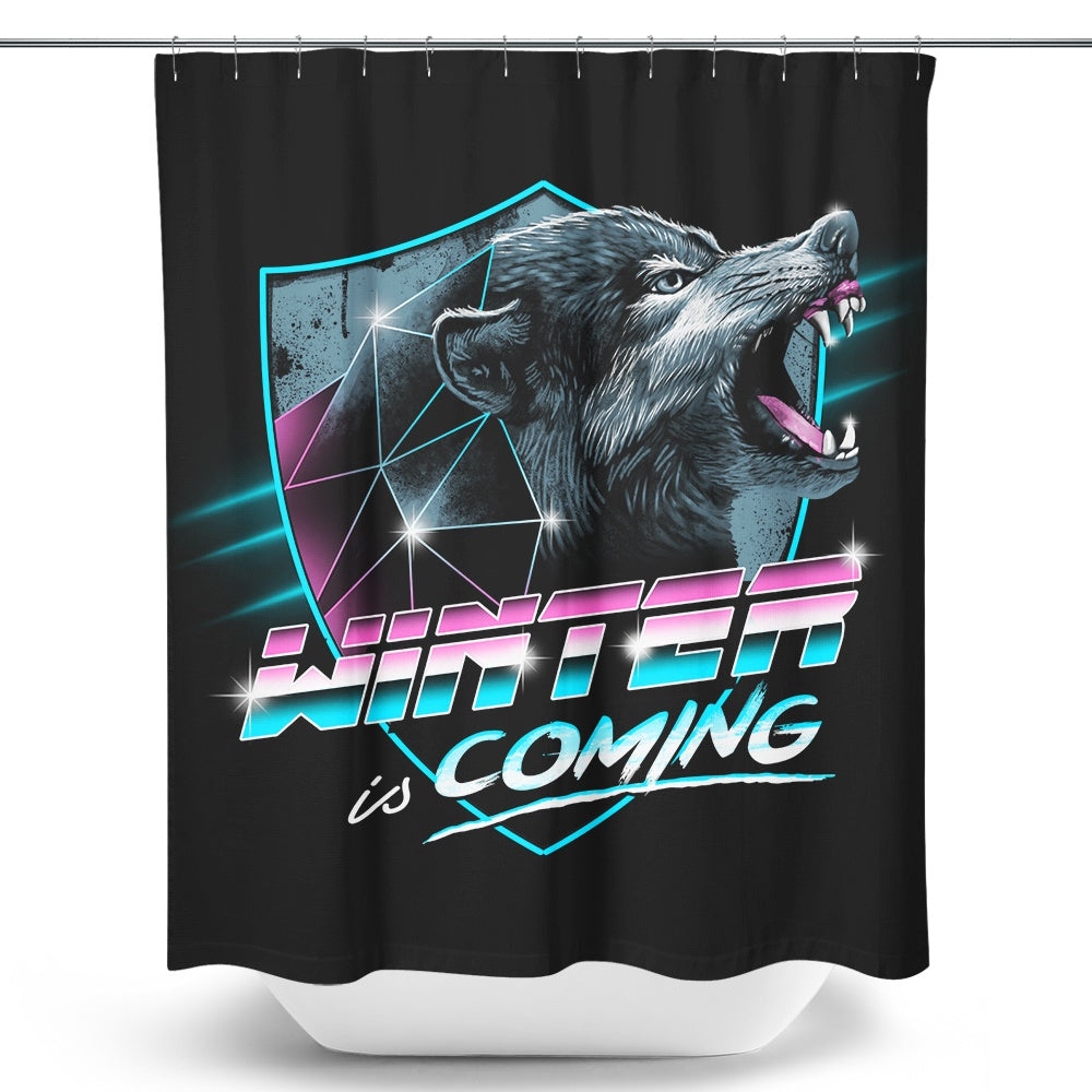 Epic Winter - Shower Curtain