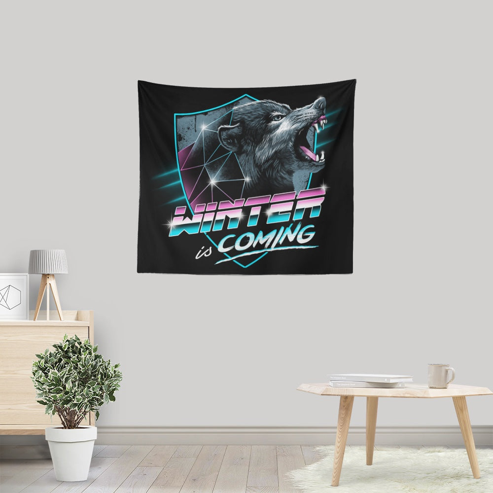 Epic Winter - Wall Tapestry