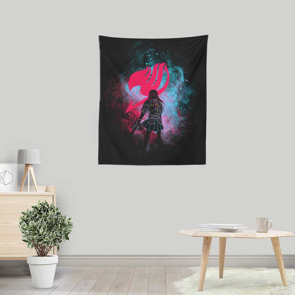 Erza Art - Wall Tapestry