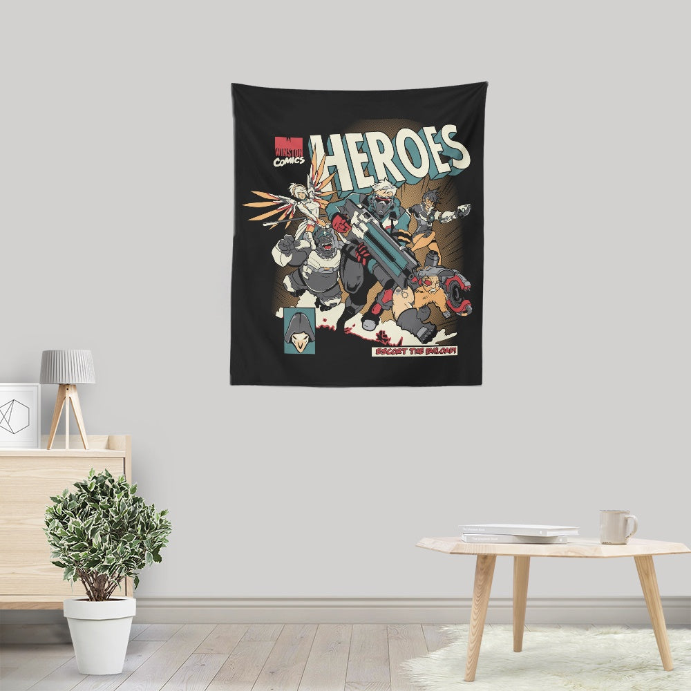 Escort the Payload - Wall Tapestry