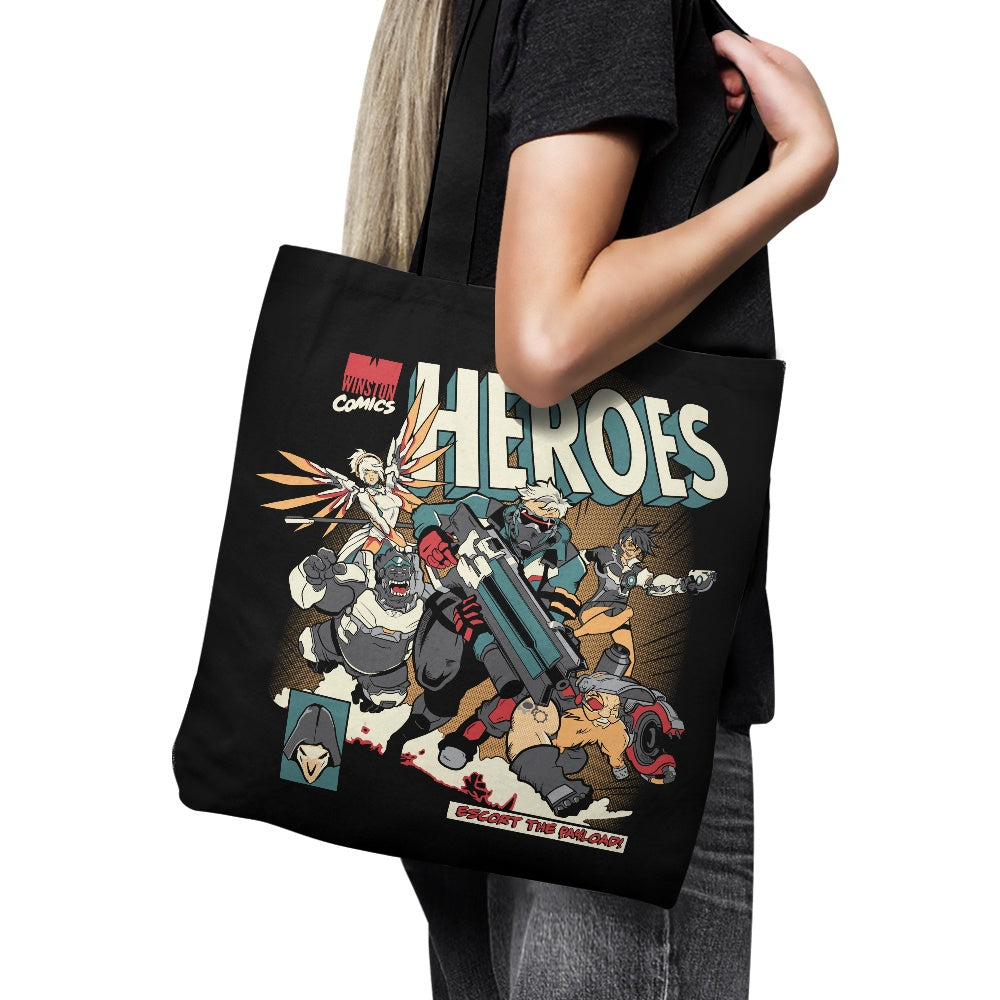 Escort the Payload - Tote Bag