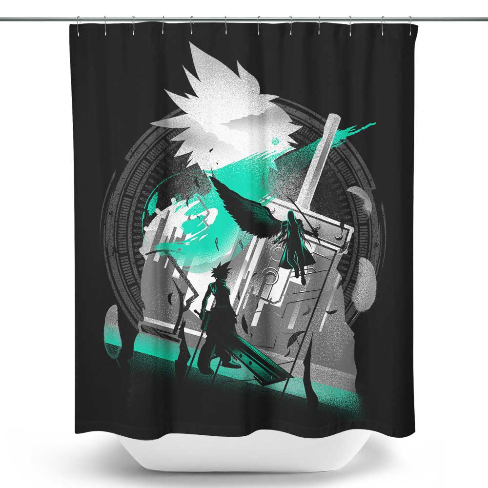 Ex-Soldier of VII (Alt) - Shower Curtain