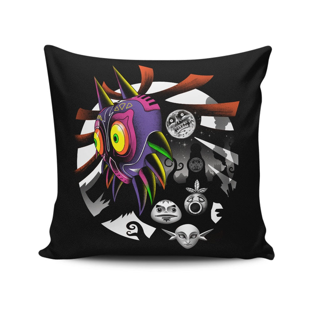 Fall of the Moon - Throw Pillow