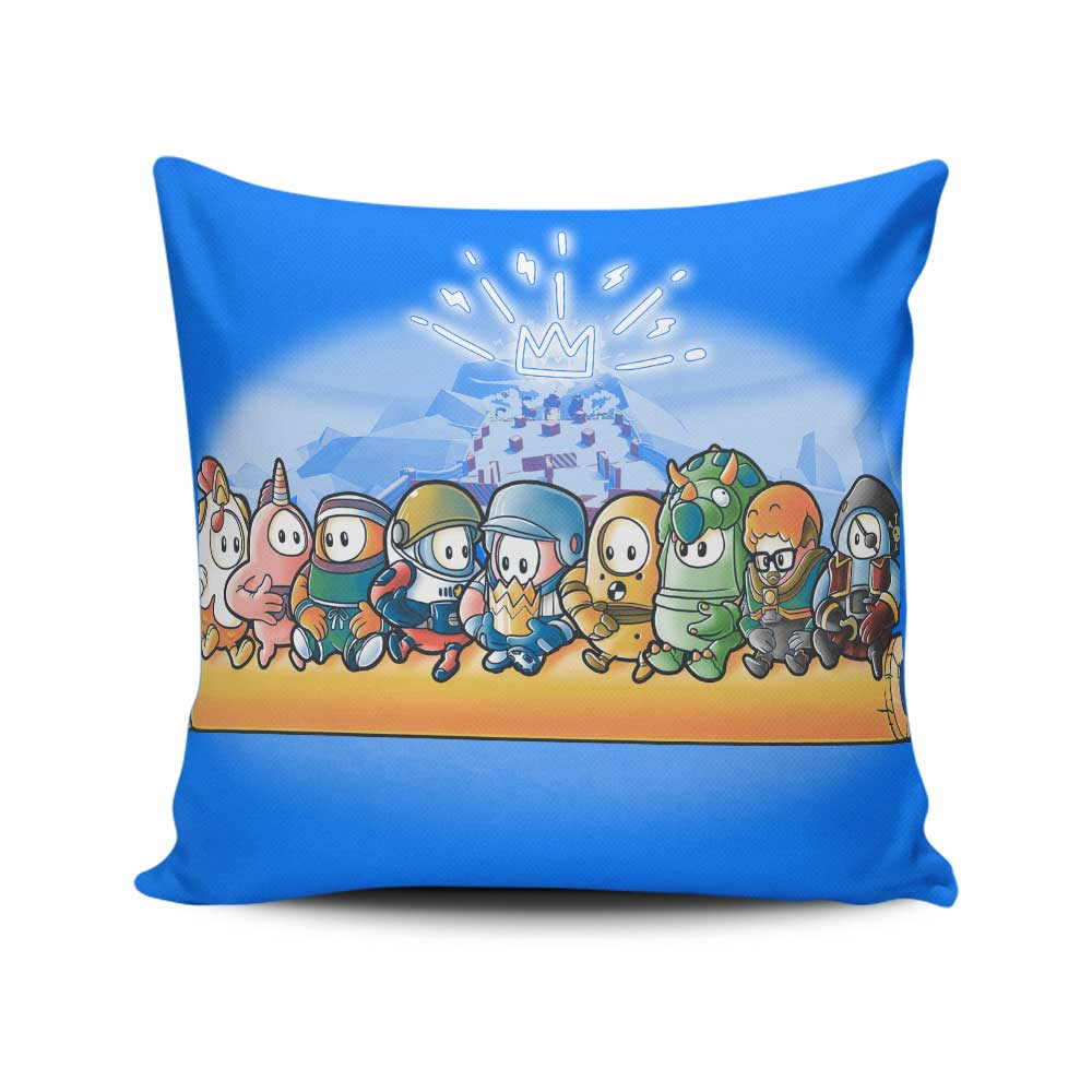 Fall Workers - Throw Pillow