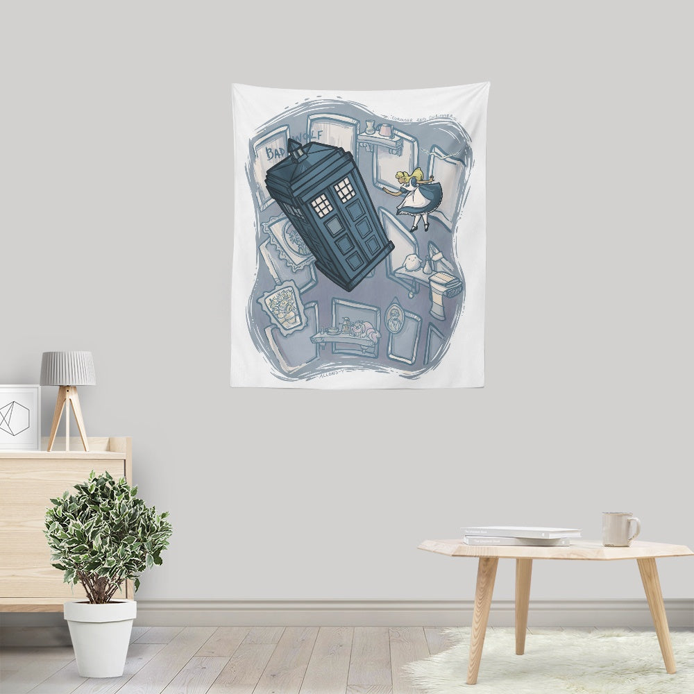 Falling - Wall Tapestry