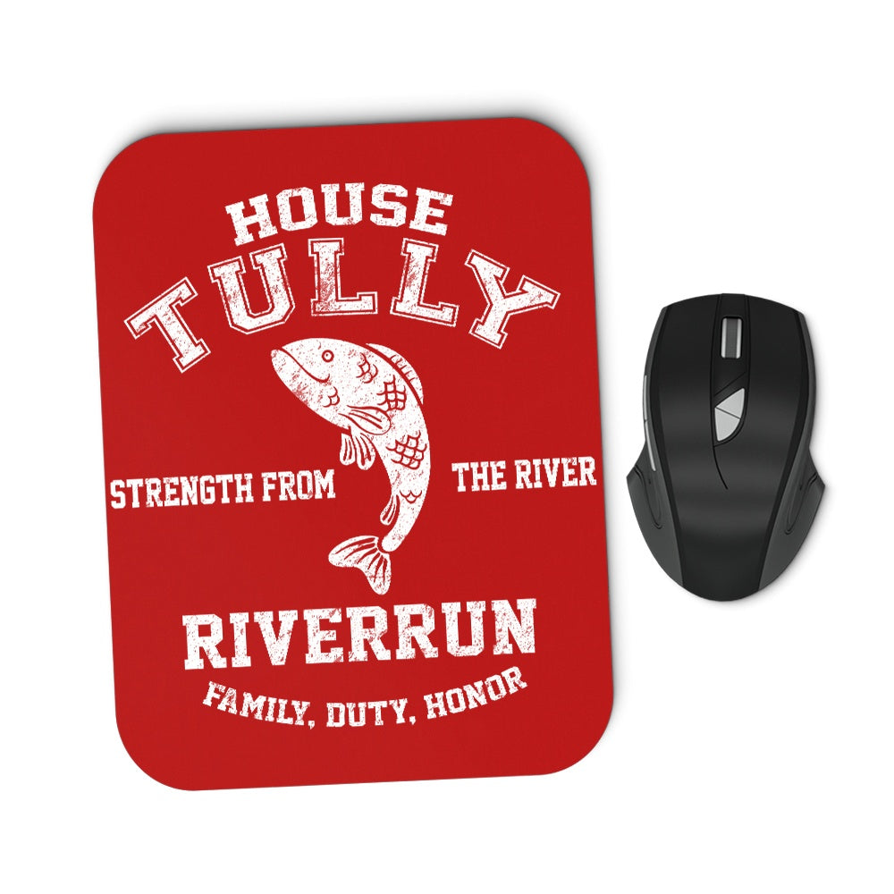 Family. Duty. Honor. - Mousepad