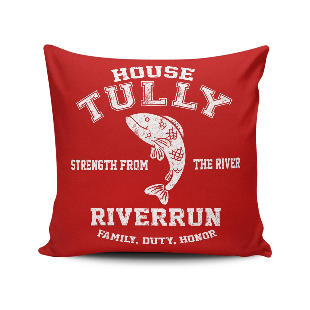 Family. Duty. Honor. - Throw Pillow