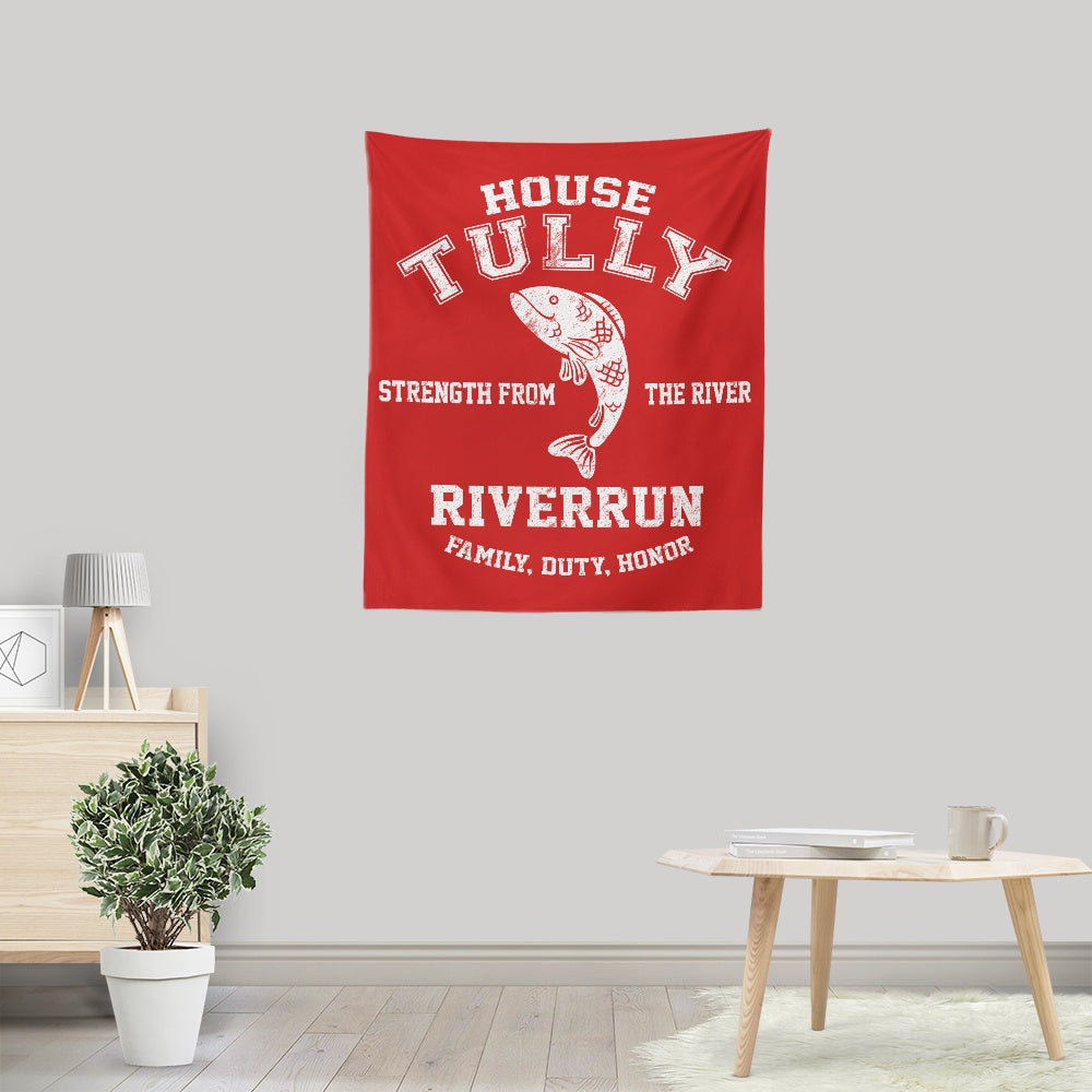 Family. Duty. Honor. - Wall Tapestry
