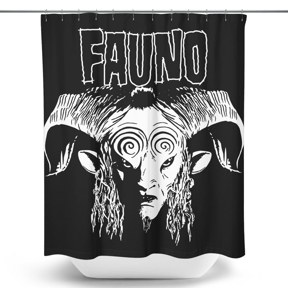 Fauno - Shower Curtain