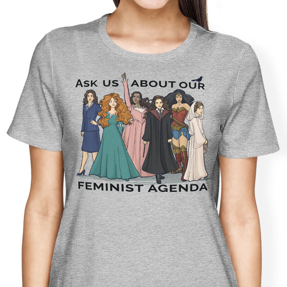 Feminist Agenda - Women's Apparel