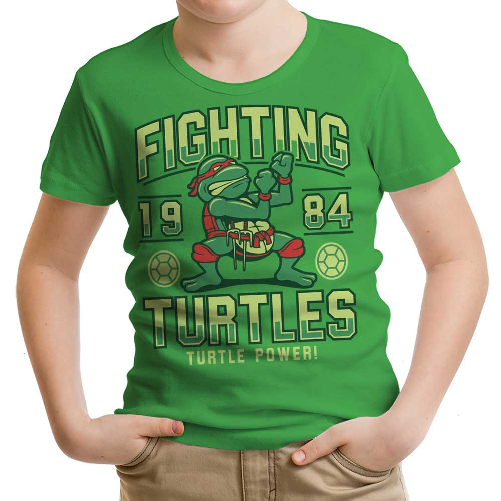 Fighting Turtles - Youth Apparel