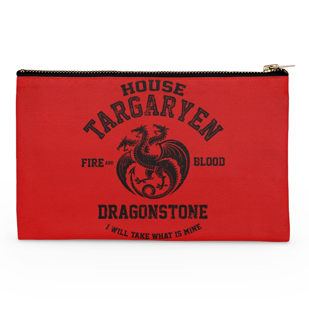 Fire and Blood (Alt) - Accessory Pouch