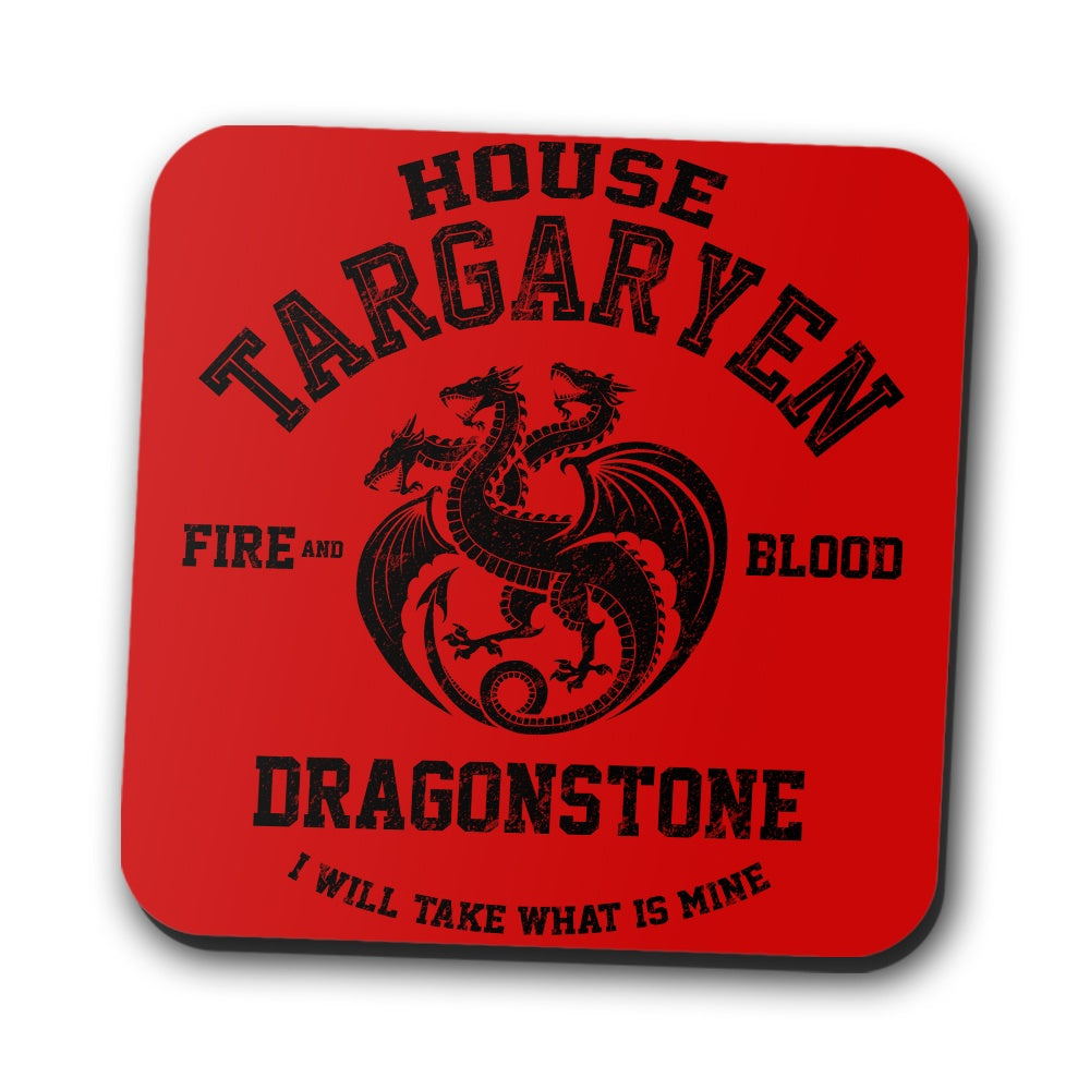 Fire and Blood (Alt) - Coasters