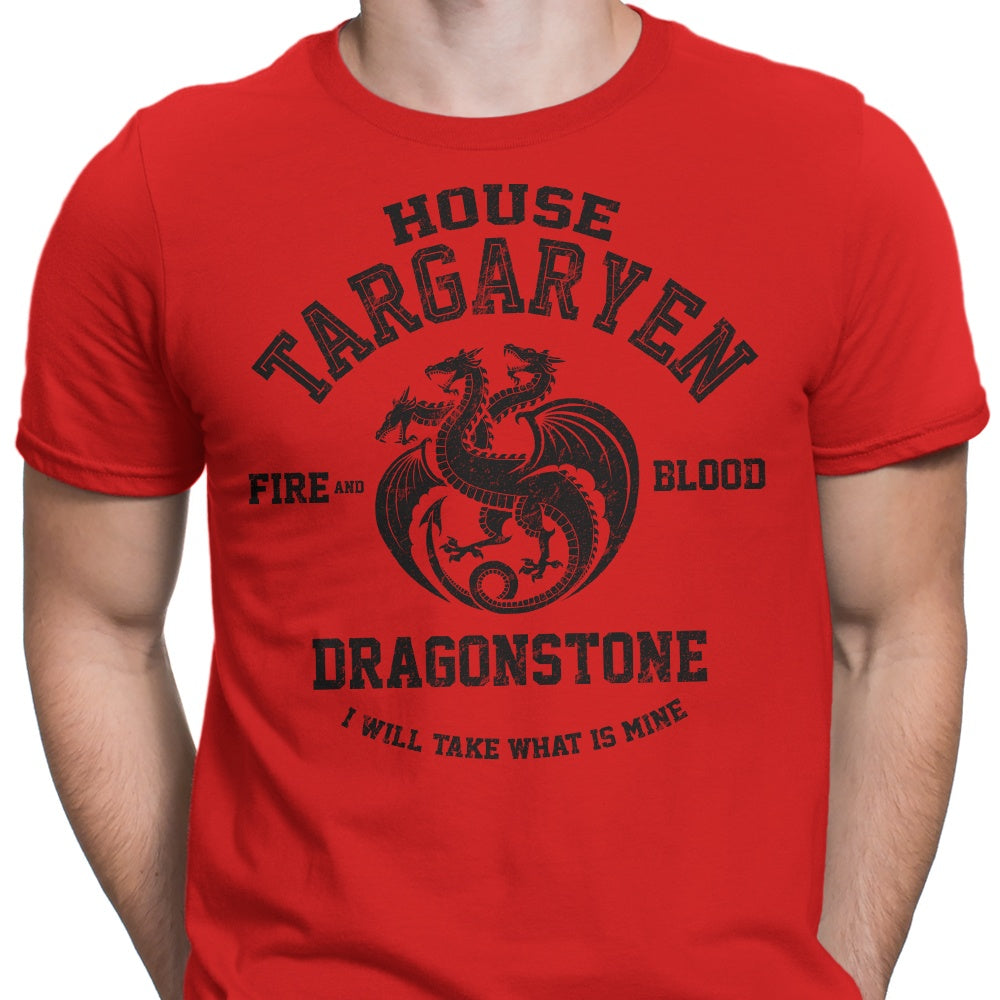 Fire and Blood (Alt) - Men's Apparel