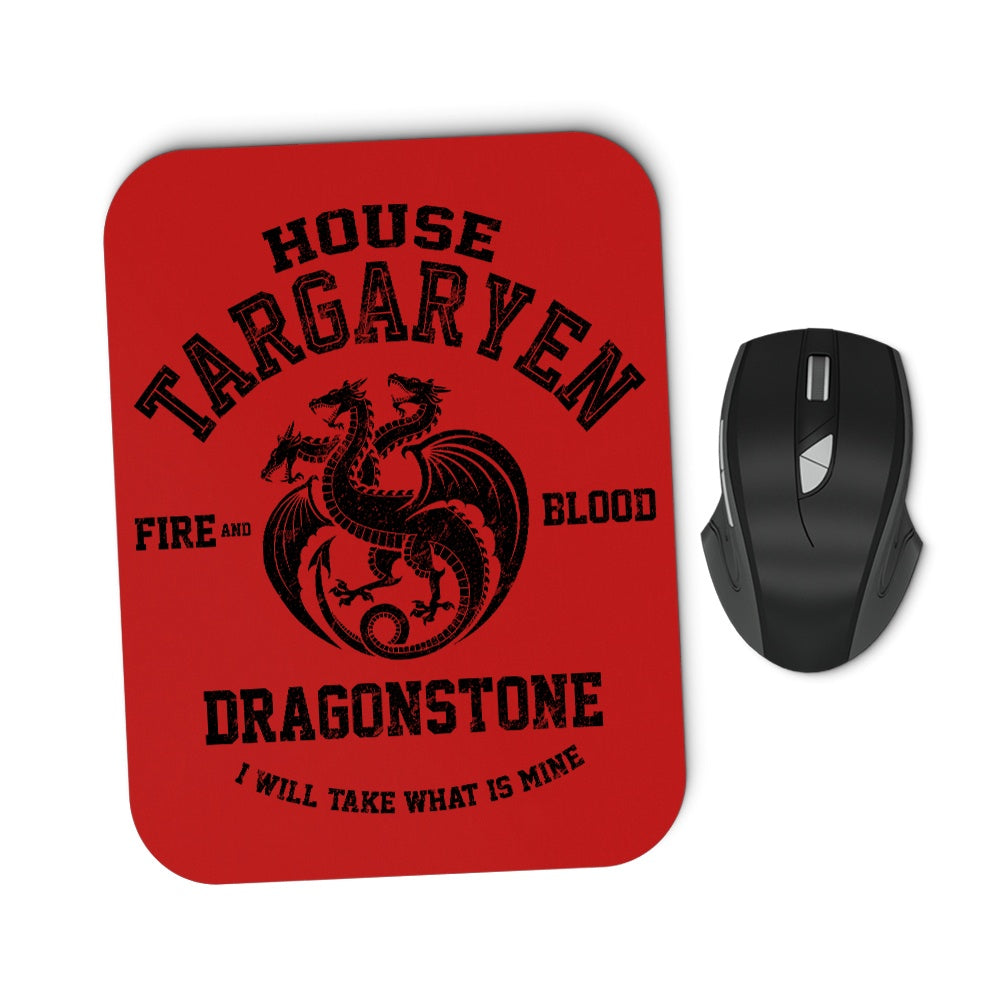Fire and Blood (Alt) - Mousepad