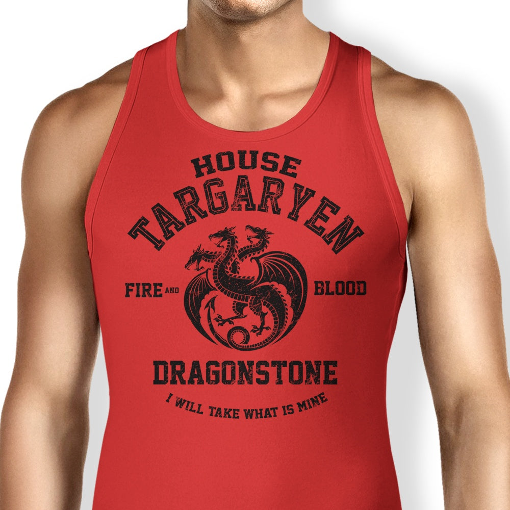 Fire and Blood (Alt) - Tank Top