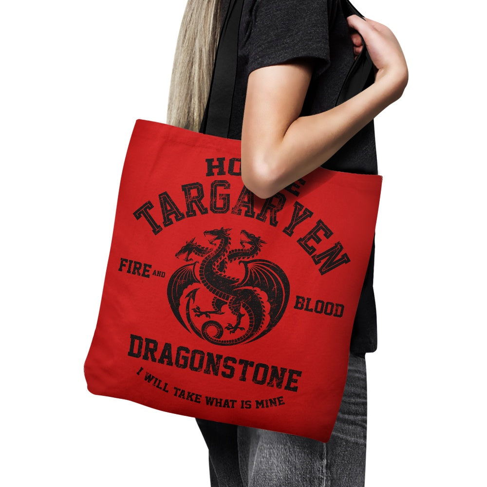 Fire and Blood (Alt) - Tote Bag