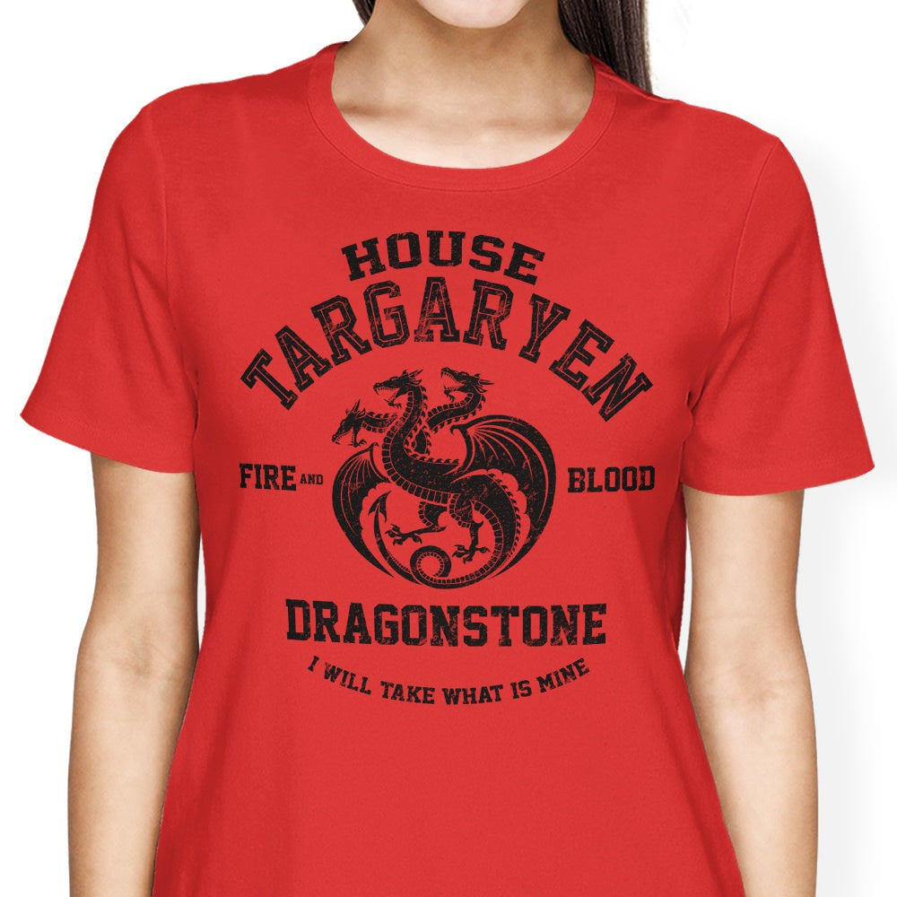 Fire and Blood (Alt) - Women's Apparel