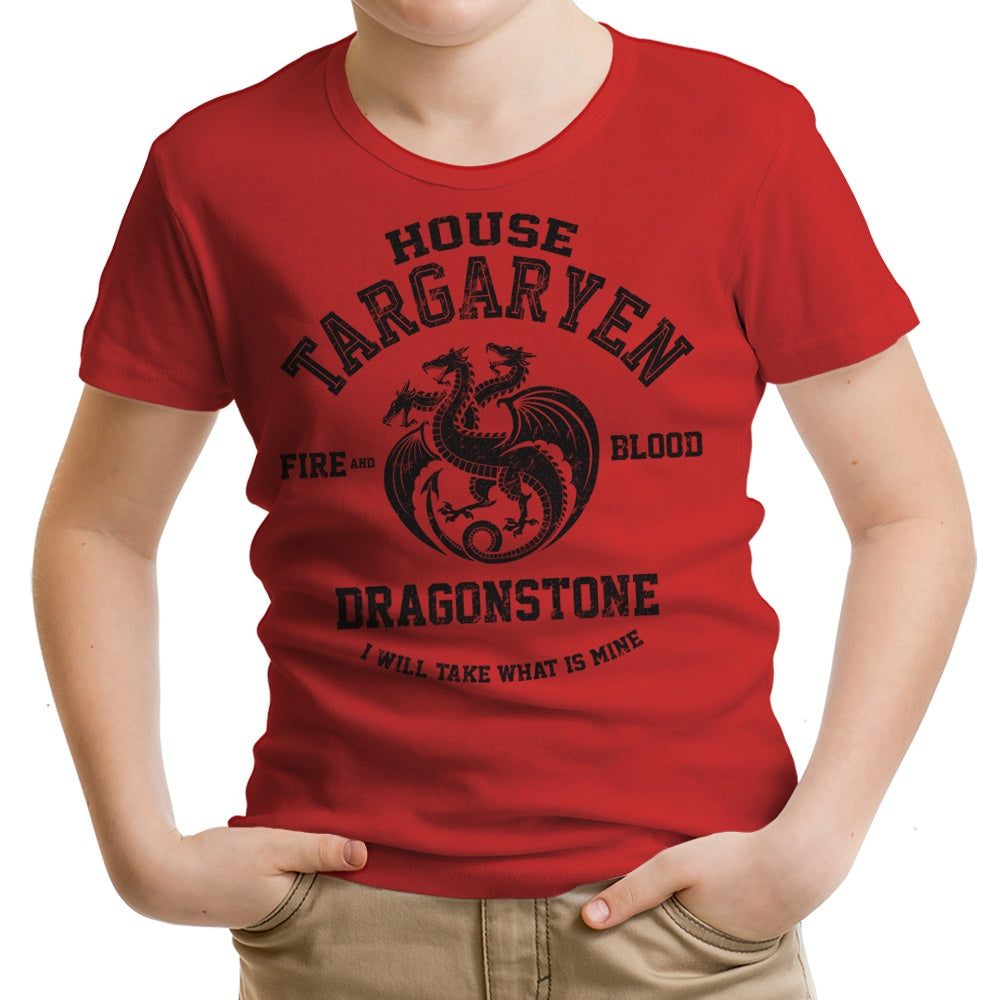 Fire and Blood (Alt) - Youth Apparel