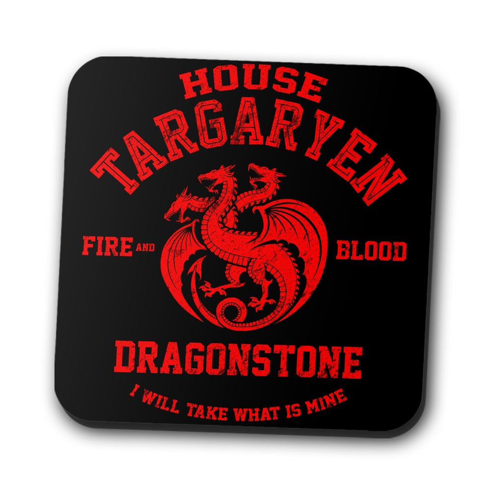Fire and Blood - Coasters