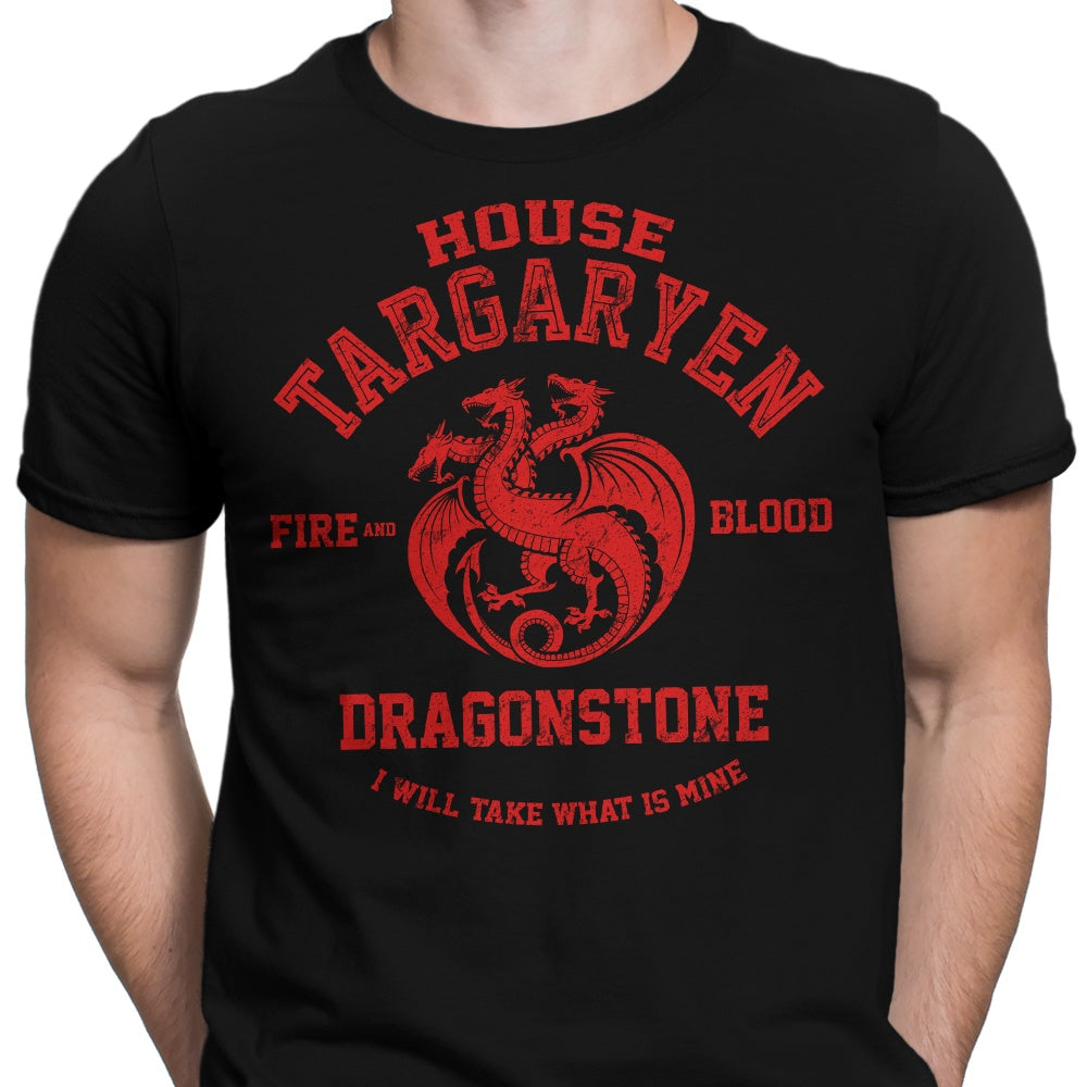 Fire and Blood - Men's Apparel