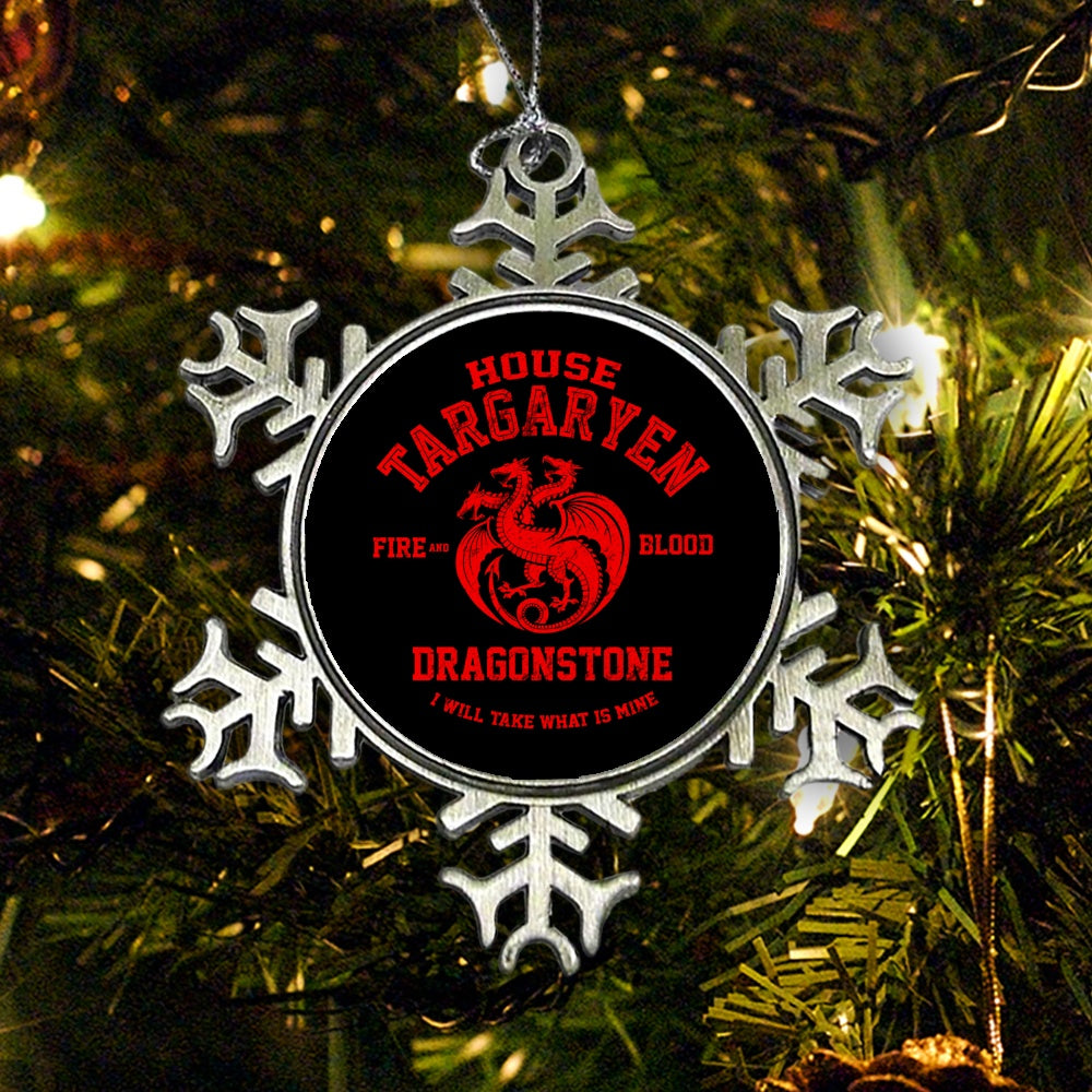 Fire and Blood - Ornament