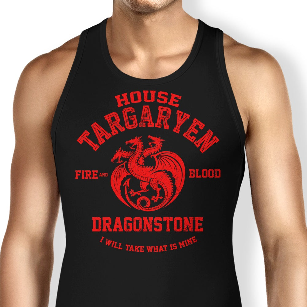 Fire and Blood - Tank Top