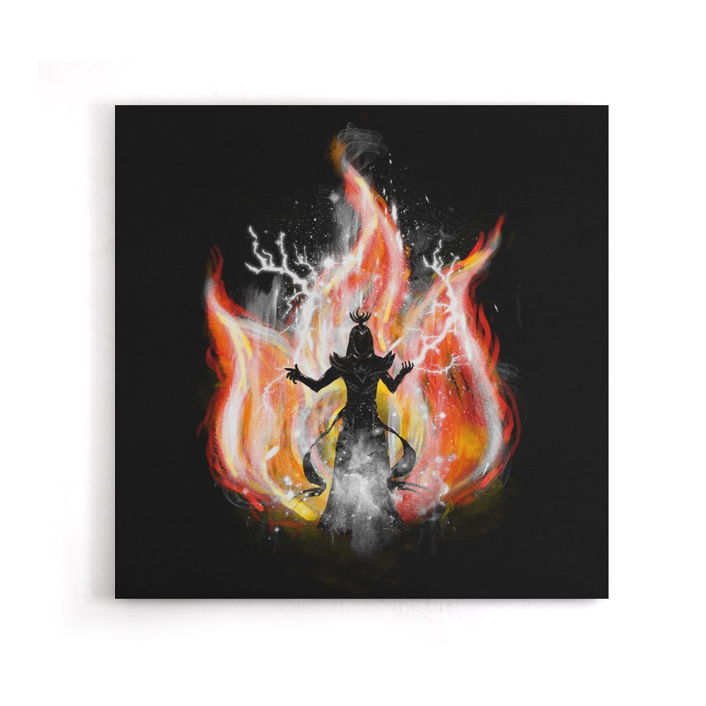 Fire Elemental - Canvas Print