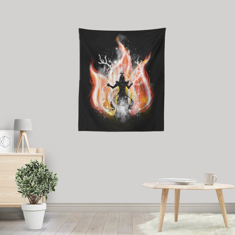 Fire Elemental - Wall Tapestry