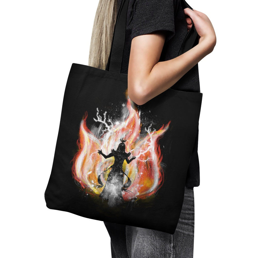 Fire Elemental - Tote Bag