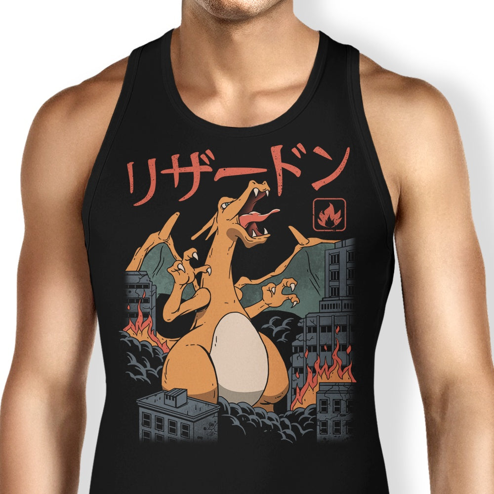 Fire Kaiju - Tank Top