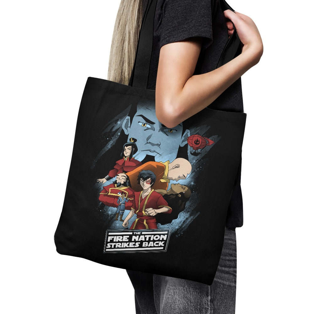 Fire Nation Strikes Back - Tote Bag