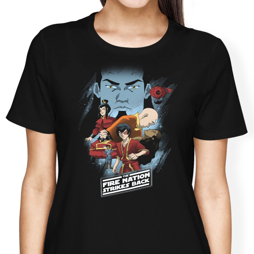 Fire Nation Strikes Back - Women's Apparel