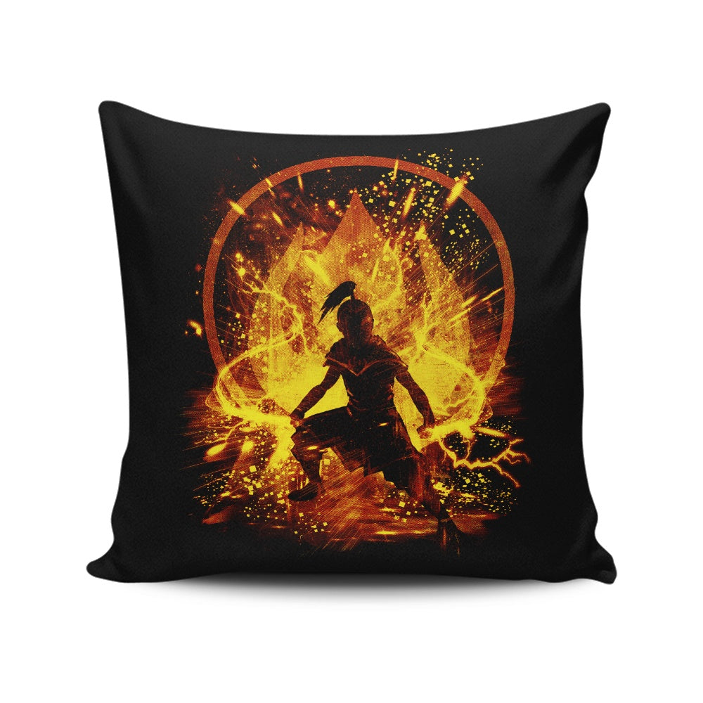Fire Storm - Throw Pillow
