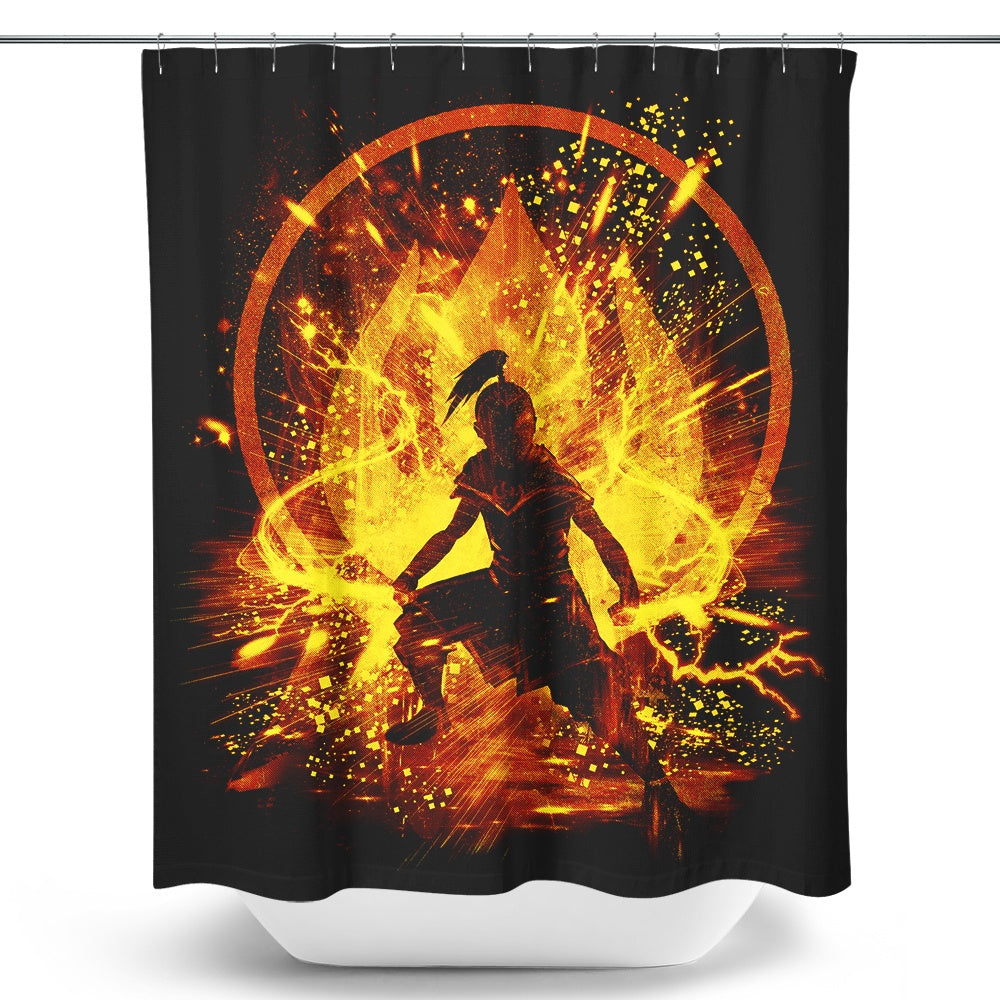 Fire Storm - Shower Curtain