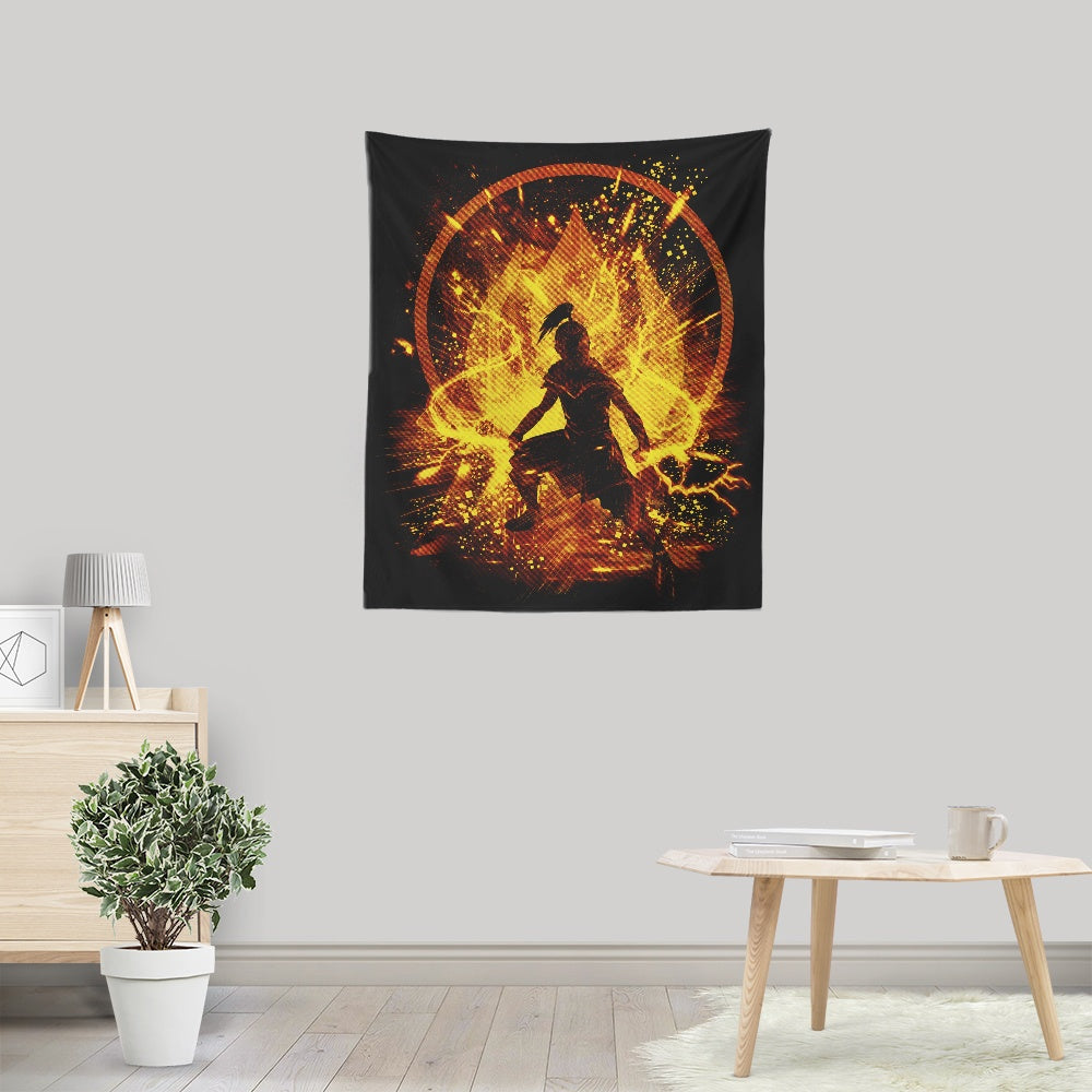 Fire Storm - Wall Tapestry